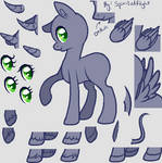 F2U Pony Base [Paint Friendly and PSD 4 Download]