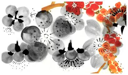 cherry flowers by masterjinn