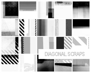 100x100 diagonal scrap brushes by masterjinn