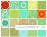 100x100 navajo patterns
