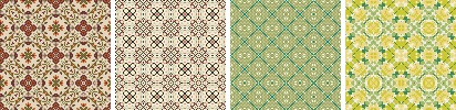13 tiling patterns by masterjinn