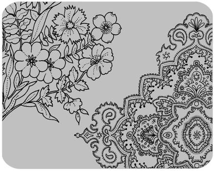 florals and paisleys