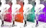 4 colors actions