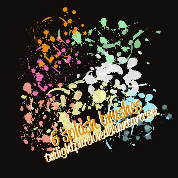 splash brushes by twilightpurelove