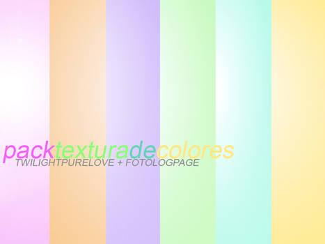 Pack texturas de colores