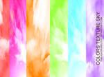 colors texture sky
