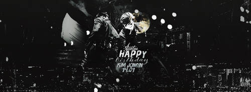 [PSD/GRAPHIC] Happy birhday Kim Jongin - HunKai