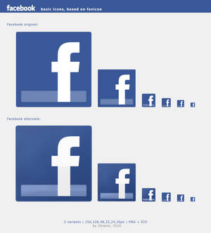Facebook HiRes icons
