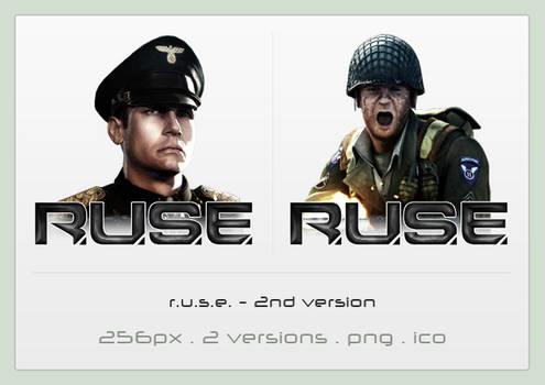 R.U.S.E. icon - 2nd version