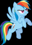 In Would Fly...Rainbow Dash by frezarion