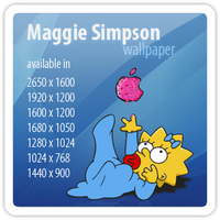 Maggie Simpson by stkdesign