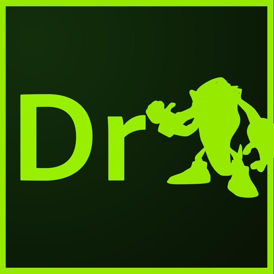 adobe dreamweaver vector the crocodile logo by rosyfan12