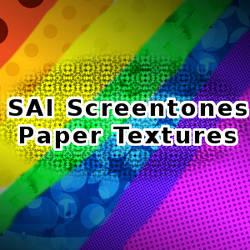 SAI Screentone Paper Textures