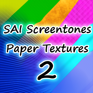 SAI Paper Textures 2 by ToadsDontExist