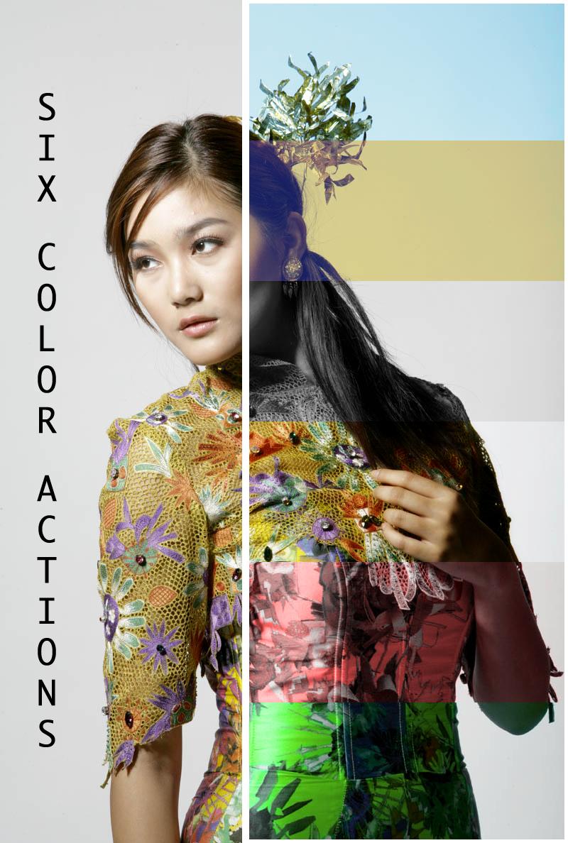 Photoshop Color Actions by RandomResources