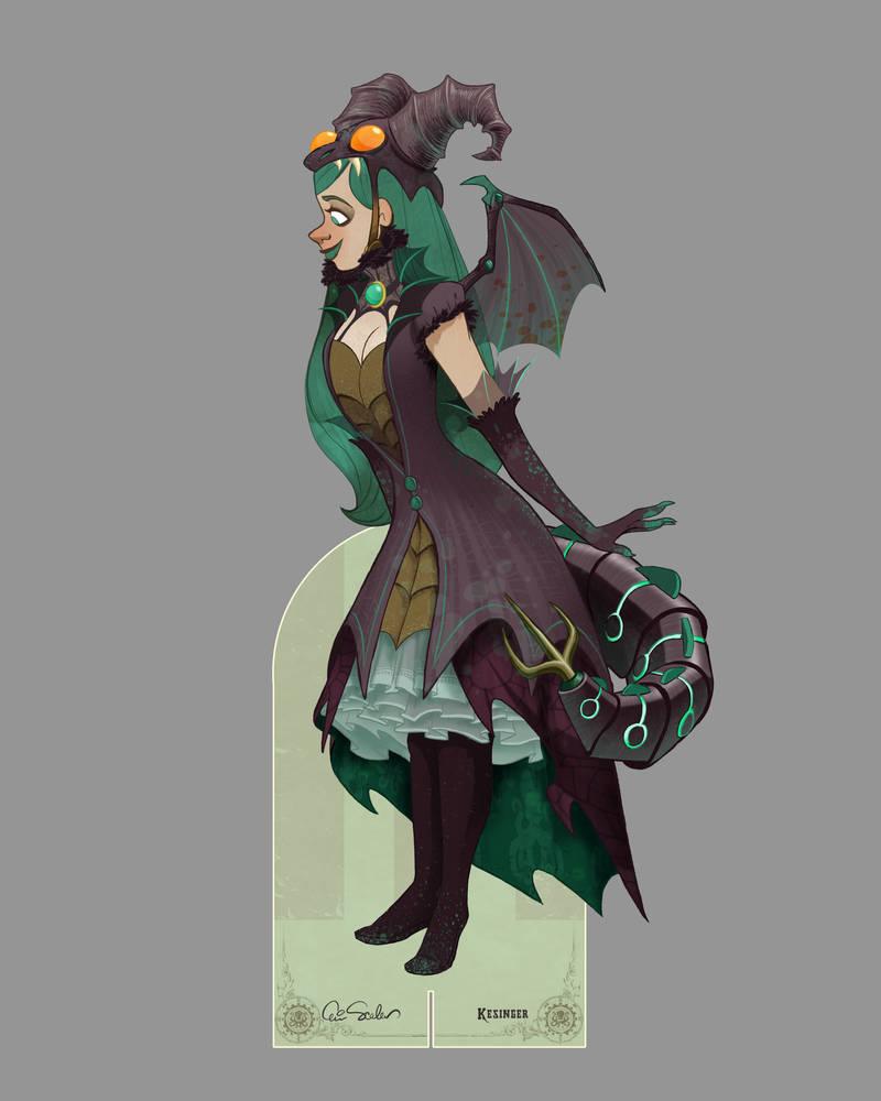 Victoria Dragon Costume- Eric Scales by BrianKesinger