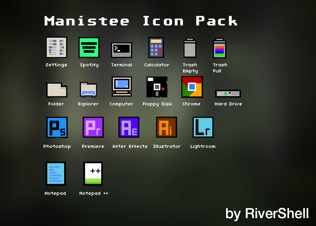 Manistee Icon Pack