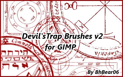 Devil's Trap Brushes v.2 by BhBear06