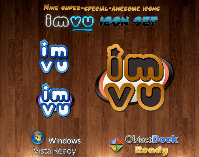 IMVU Dock n' Windows Icon Set by Conjuror-Brisa
