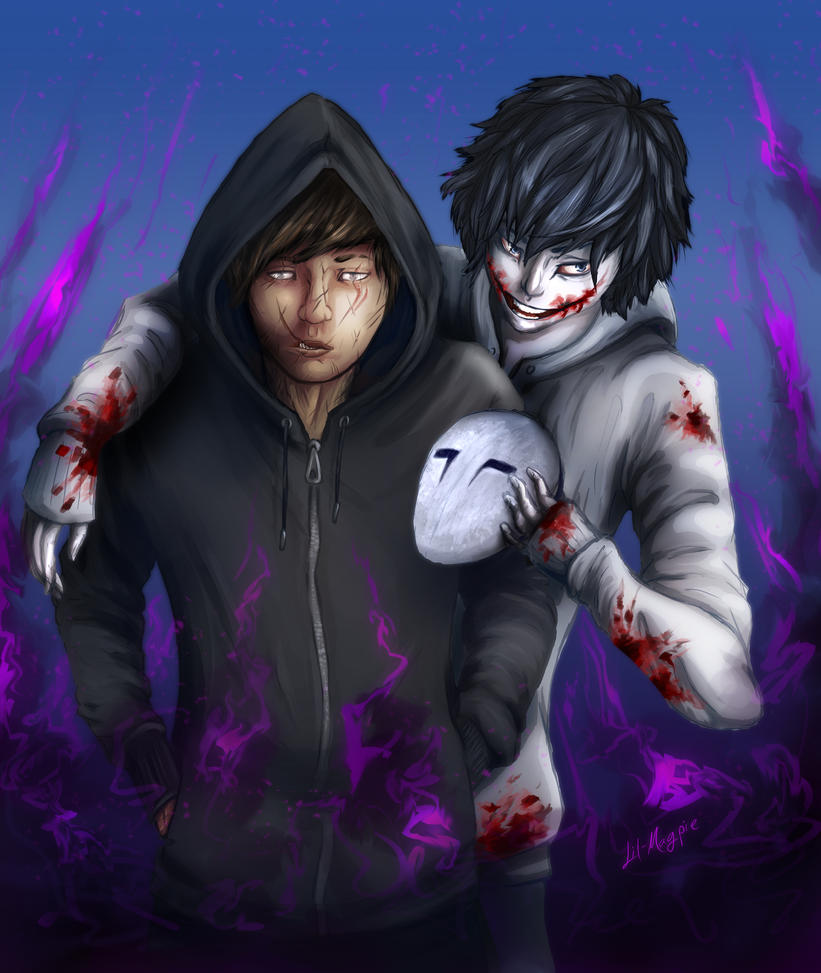 Jeff The Killer X Blind!Reader - Prologue by Lil-Magpie on