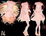 [MMD] TDA Fluffy Pink Light DL