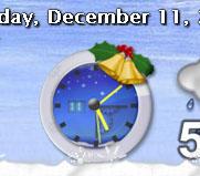 Snow Clock by judge