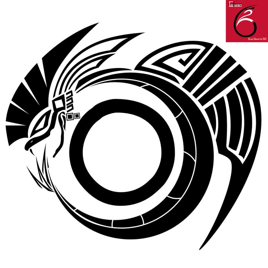 Quetzalcoatl tattoo by LuisxOlavarria