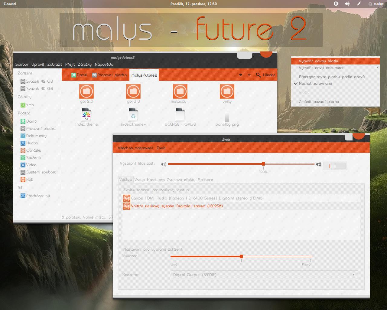 malys - future 2.0 for gnome 3.6