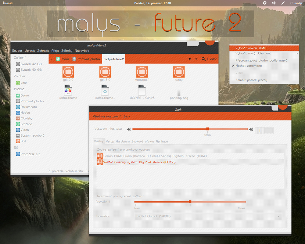 malys - future 2.0 for gnome 3.6 by malysss