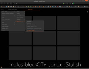 malys-blackCITY  for  Firefox (Stylish)
