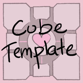 Cube Template by jefita