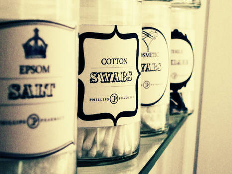 Apothecary Jar Labels
