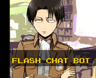 Levi/Rivaille -Shingeki no Kyojin chat bot by Amena-chaan
