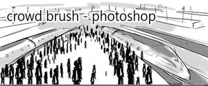 Crowd Brush