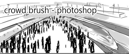 Crowd Brush by nnaj
