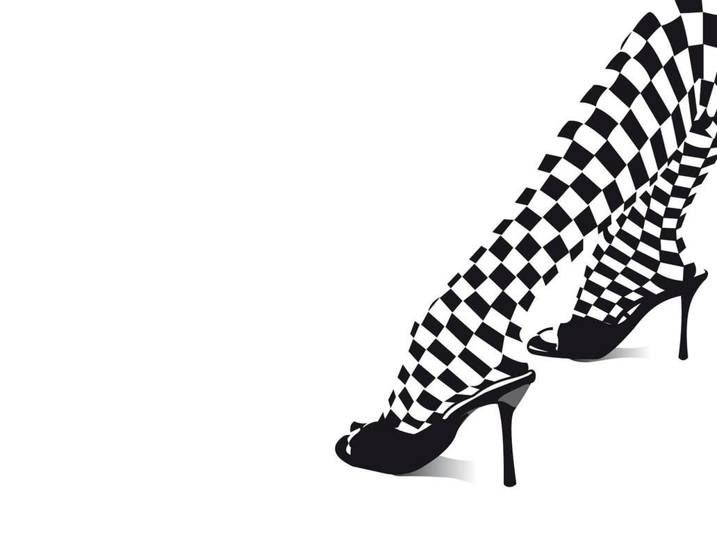 Chess Shoe Wallpaper