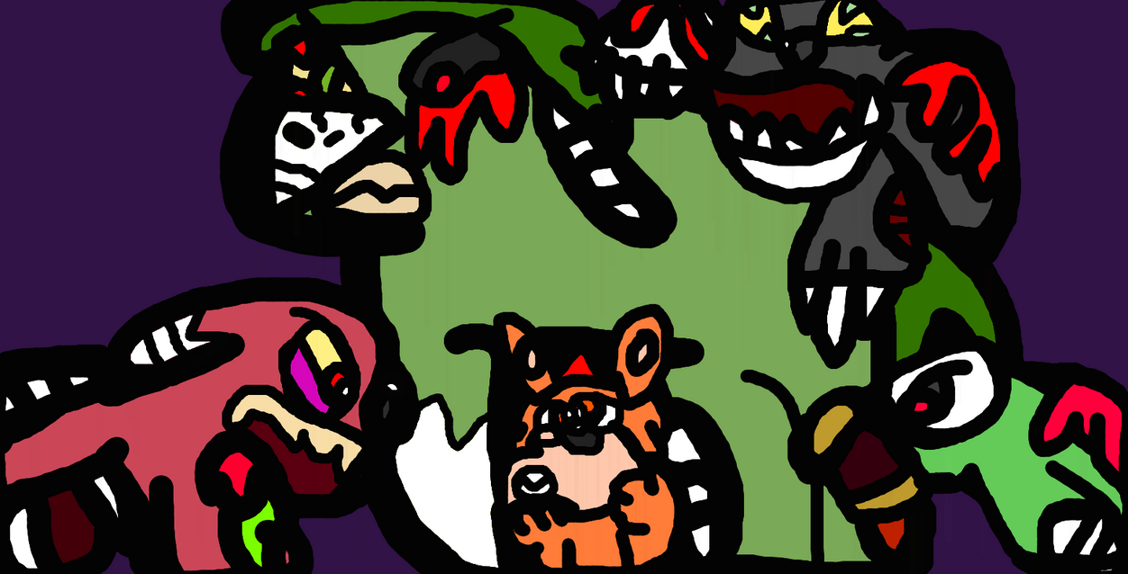 Attack Of The Living Pets by TheGr8estOne