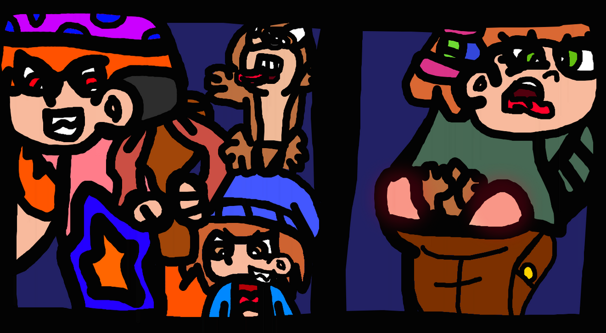 Chipmunk Slingin' Though The Buttcracks by TheGr8estOne