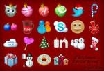Christmas Social Icons