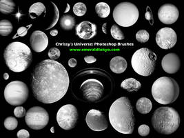 Chrissy's Universe PS Brushes by EmeraldTokyo