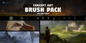 Concept Art Brush Pack