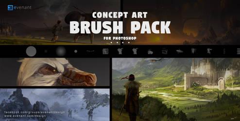 Concept Art Brush Pack