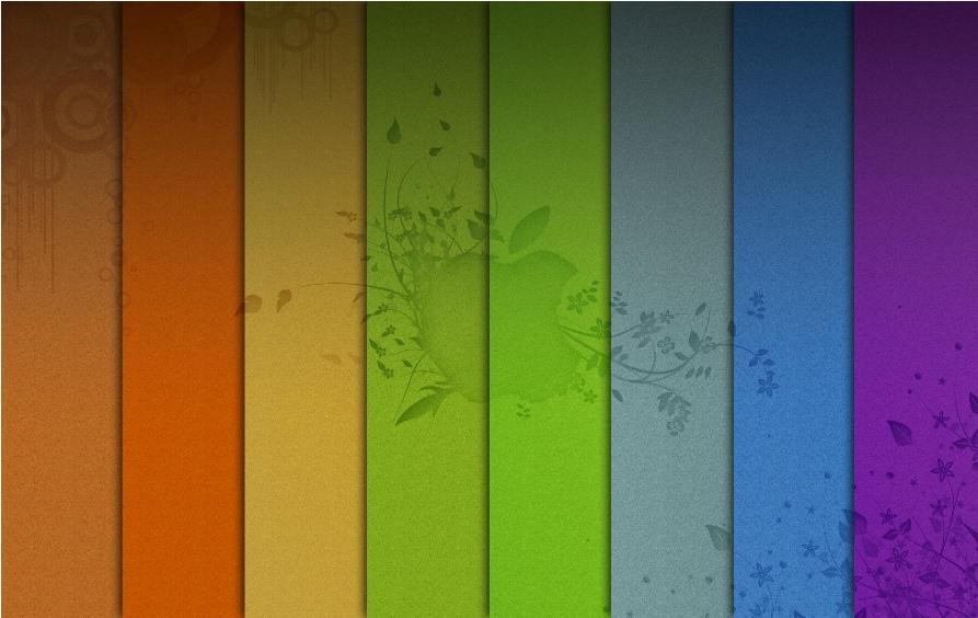 Rainbow Spring Mac by ipapun