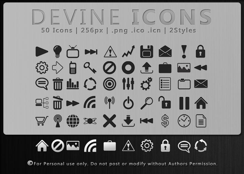Devine Icons by ipapun