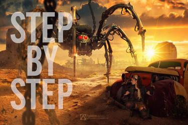 Steampunk Spider - Step by Step
