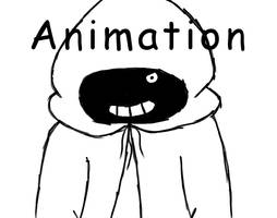 Sans Cloak Animation Sketch by redella