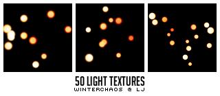 Light textures set 001 by WinterChaos