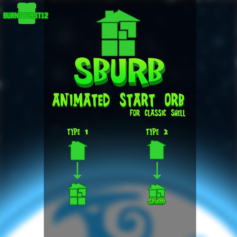 sburb house logo start button animated by burnttoast12