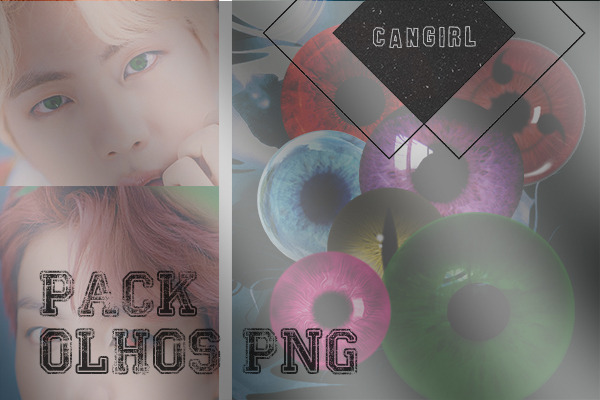 PACK PNG OLHOS by CANgirl