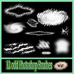 12 Odd Photoshop Brushes